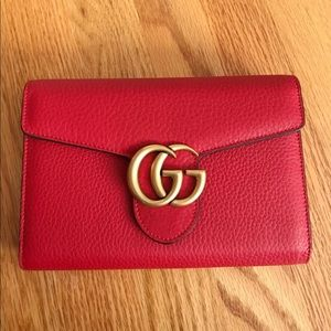 Red Gucci Crossbody Bag